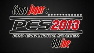 Pro Evolution Soccer 2013-Como Jogar Online(Completo)