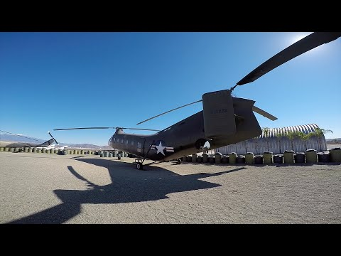 LICKING A HELICOPTER ON A MILITARY BASE ( Alarms/Busted )