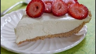 Easy No Bake Cheesecake Recipe - Childhood Favorite!!