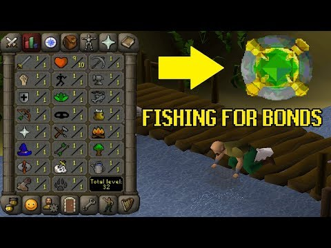 I Got A Bond In Free To Play Just By Fishing