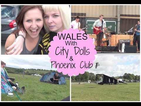 VLOG || Weekend In Wales Playing Gigs (ft City Dolls & Phoenix Club)