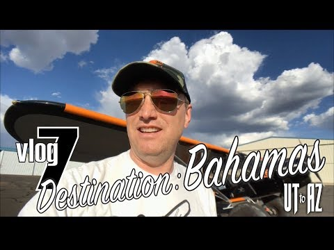 Destination Bahamas Travel Vlog 7 Salt Lake City, Utah to Show Low, Arizona