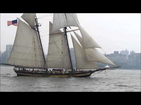 Operation Sail 2012: schooner Pride of Baltimore II & Mexican barque Cuauhtemoc