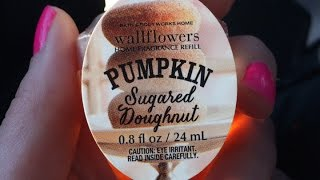 Pumpkin Sugared Doughnut Wallflower and Other Random Bath & Body Works Thoughts Thumbnail