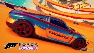 Noble M600 Homem de Ferro Jogo Forza Horizon 3 Hot Wheels