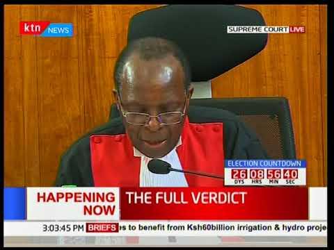 Supreme Court Judge, Prof. Jackton Ojwang' outlines his dissenting verdict [Part 3]