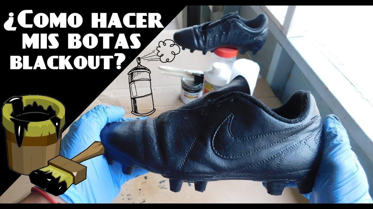 Dibujos para colorear botas de fútbol