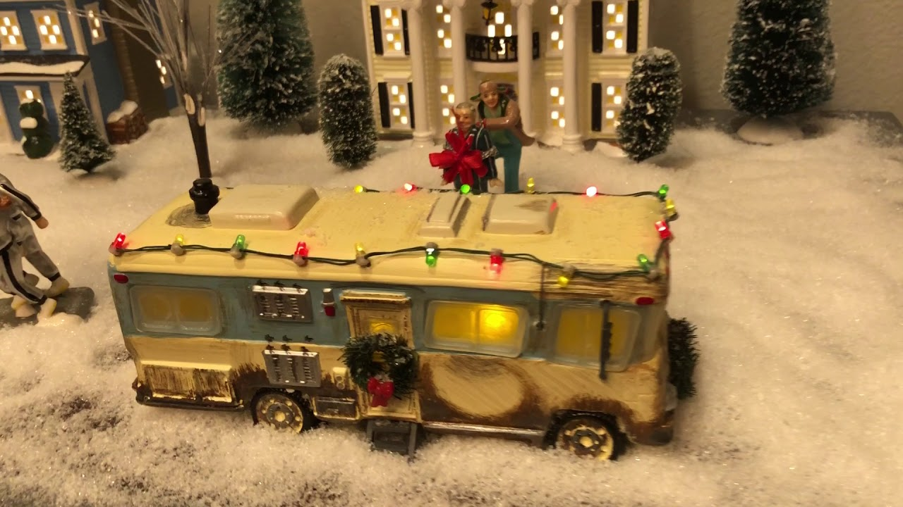 National Lampoons Christmas Vacation Village 2018 - YouTube