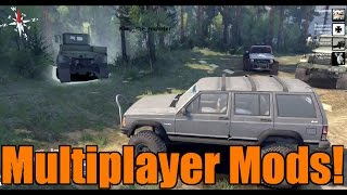 Spin Tires | Multiplayer with Mods! | Exclusive Gameplay | Part 1