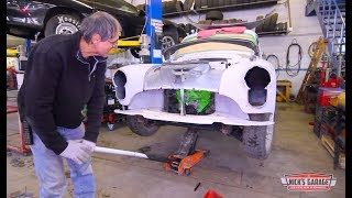 1949 Olds with Zombie Small Block Chevy - Nick Meets The Bride