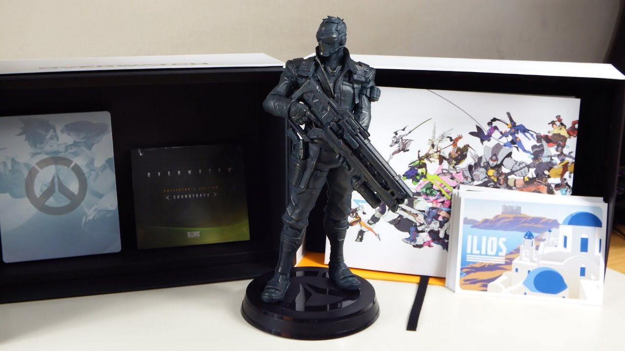 Overwatch Collectors Edition YouTube