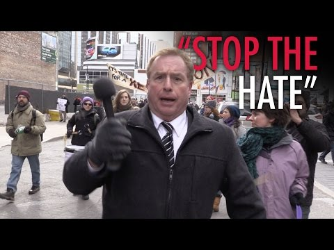 """Toronto's """"Stop the Hate"""" women's march FAIL"""