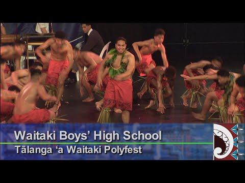 Waitaki Boys' High School - Tālanga 'a Waitaki Polyfest. Otago Polyfest 2018