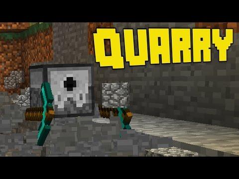 LO SCAVATORE AUTOMATICO (Quarry) - Minecraft