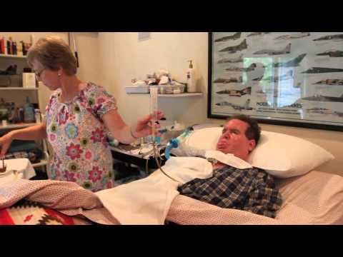 Caring for a man with Lou Gehrig's Disease