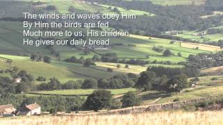 We plough the fields and scatter