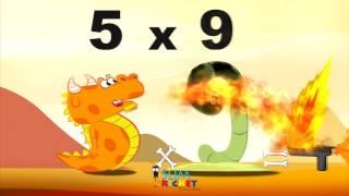 Mathemagics Multiplication - L'histoire de 5x9