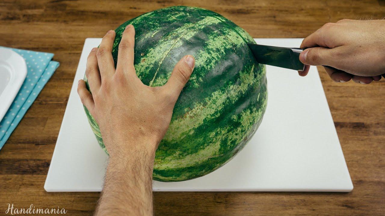 Easy to cut watermelon treats!