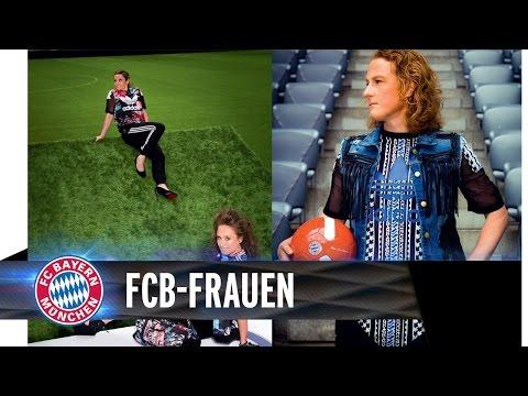 Fotoshooting in der Allianz Arena | FCB-Frauen