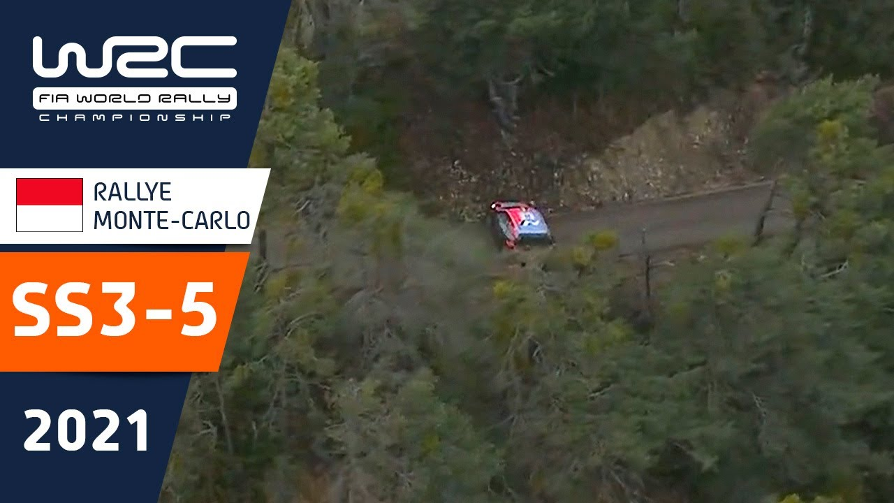 WRC - Rallye Monte-Carlo 2021: Highlights Stages 3-5