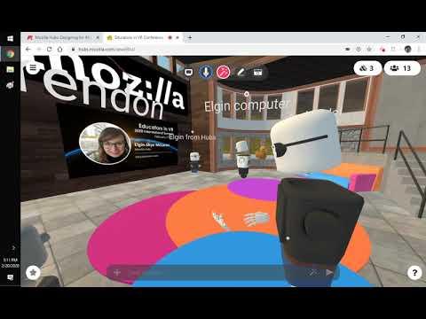 Mozilla Hubs: Designing For All By Elgin-Skye McLaren