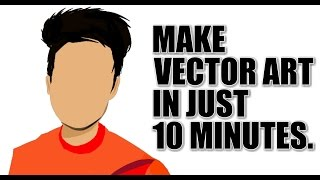 How to make Vector Art/Potrait on android phone | iNVENT