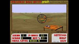 Prairie dog hunt pro (Windows game 1996)