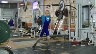 Отегов Степан, 11 лет, св 30 Толчок 20 кг Есть личный рекорд!