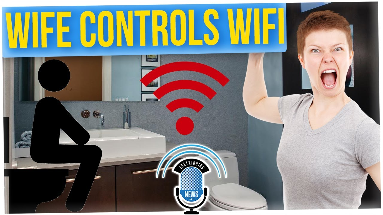 Wife Turns OFF the WiFi When Husband Uses the Restroom