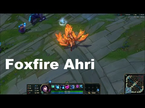 Foxfire Ahri SkinSpotlight - League of Legends