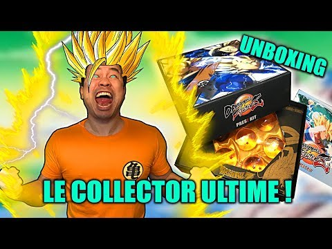 DRAGON BALL FIGHTERZ : notre UNBOXING du Press Kit Collector ! 😍