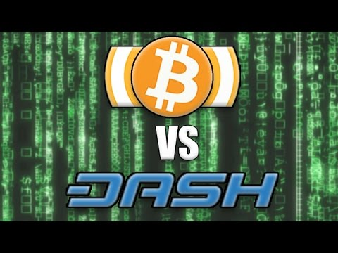 Bitcoin vs Dash digital cash - Which will achieve mass adoption first?