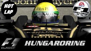 F1C - F1 Classic - John Player Special Lotus Team (Senna in Hot Lap) Hungaroring