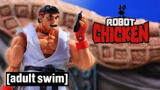 The Best of Street Fighter   Robot Chicken   Adult Swim Video
