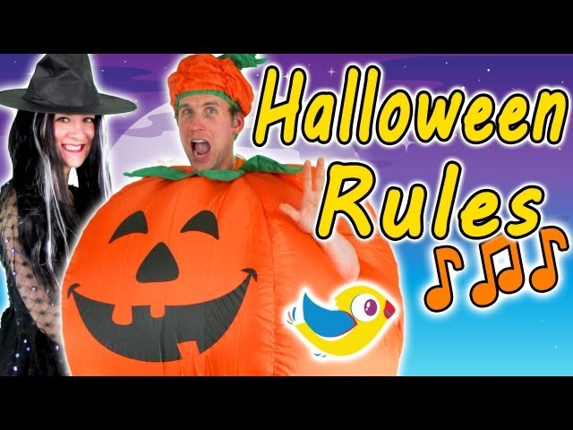 Halloween Rules - Kids Halloween Song