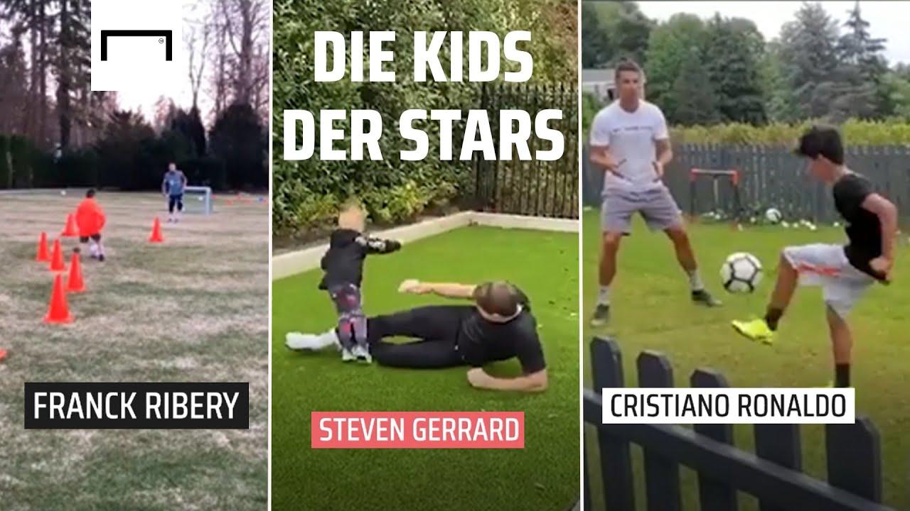 CR7 arbeitet an den Basics, Ribery richtet ein Bootcamp ein und Gerrard zeigt seine Tackling-Skills