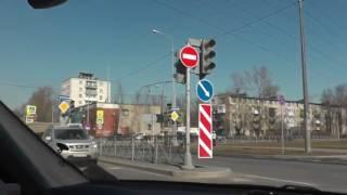 Автонакат - Будьте осторожны на больших перекрестках при развороте и левом повороте.