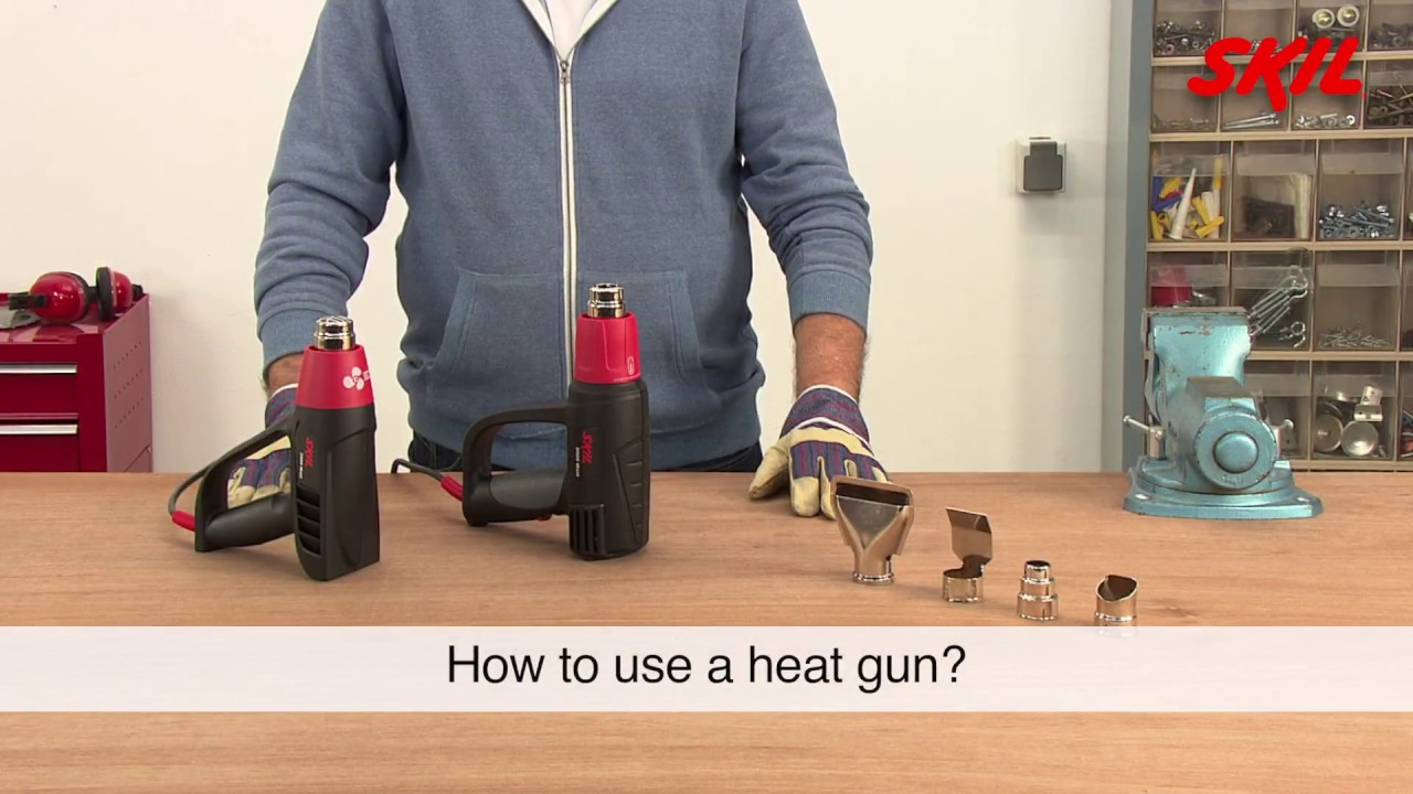 How To Use A Heat Gun Youtube