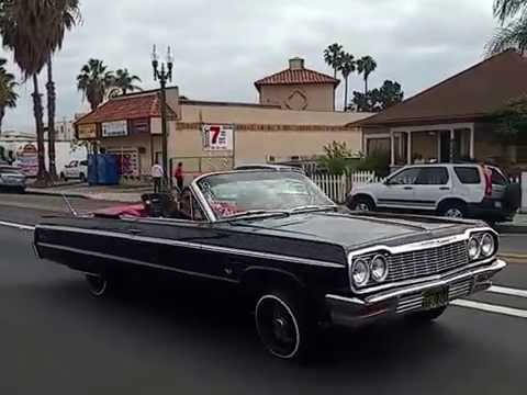 San Go Lowriders Cruising On Sunday Afternoon