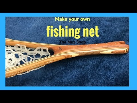 Making a Fishing Net ( Part 2 The Net)