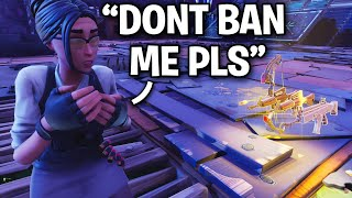 I made him think he got hacked... 😂 (Scammer Get Scammed) Fortnite Save The World
