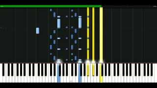 Shaggy - Hey sexy lady [Piano Tutorial] Synthesia | passkeypiano