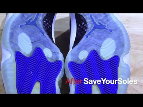 How to remove yellowing from sneakers - Save Your Soles