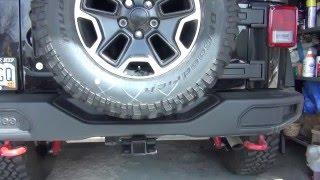 Jeep Rear Bumper AEV Part 1