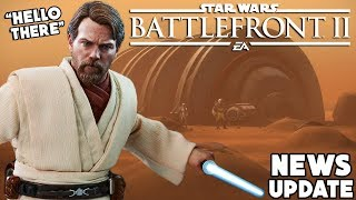 Star Wars Battlefront 2 - Geonosis Update, Obi-Wan Kenobi Dialogue and More News!