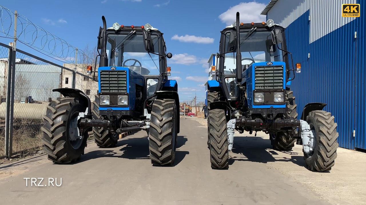 Сравнение тракторов МТЗ-82. Беларус-82.1 с балочным мостом