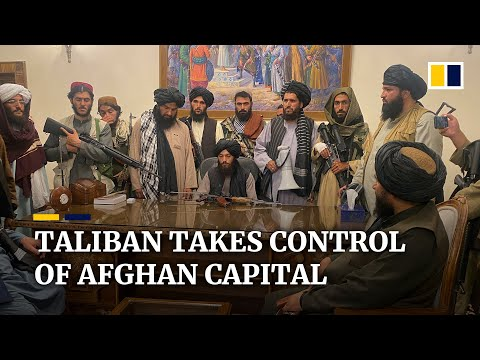 Taliban takes control of Afghan capital Kabul as President Ghani flees country