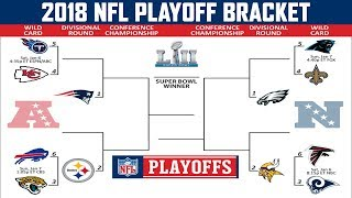 2018 NFL PLAYOFF PREDICTIONS | FULL BRACKET | MY SUPER BOWL MATCHUP WILL SURPRISE YOU!