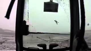 Экскаватор превратили в карусель