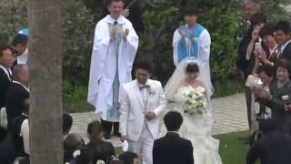 Японская свадьба в европейском стиле.